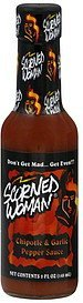 pepper sauce chipotle & garlic Scorned Woman Nutrition info