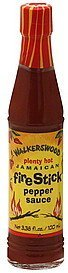 pepper sauce jamaican fire stick, plenty hot Walkerswood Nutrition info