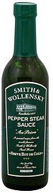 pepper steak sauce au poivre Smith & Wollensky Nutrition info