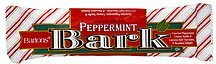 peppermint bark Bartons Nutrition info