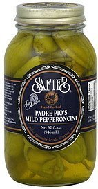 pepperoncini mild, padre pio's Safies Nutrition info