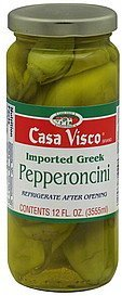 pepperoncini Casa Visco Nutrition info