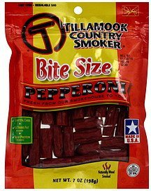 pepperoni bite size Tillamook Country Smoker Nutrition info