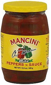 peppers 'n sauce mild Mancini Nutrition info