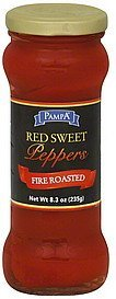 peppers red sweet, fire roasted Pampa Nutrition info