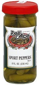 peppers sport Dell'Alpe Nutrition info