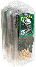 pesto kit basil & pine nuts HerbThyme Farms Nutrition info
