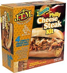 philly cheese steak kit, chicken J.T.M. Nutrition info