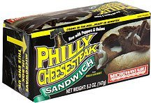 philly cheesesteak sandwich Philly-Gourmet Nutrition info