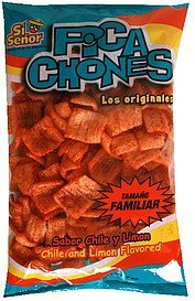 pica chones chile and limon flavored Si Senor Nutrition info