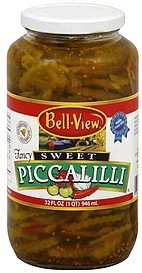 piccalilli sweet Bell View Nutrition info