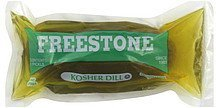 pickle kosher dill Freestone Nutrition info