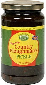 pickle relish country ploughman's Norfolk Manor Nutrition info