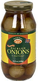 pickled onions in malt vinegar Norfolk Manor Nutrition info