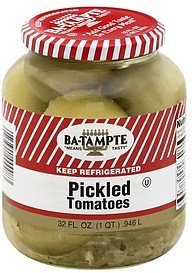pickled tomatoes Ba-Tampte Nutrition info