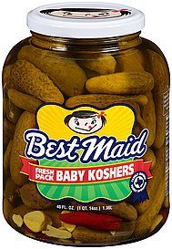 pickles baby koshers Best Maid Nutrition info