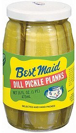 pickles dill planks Best Maid Nutrition info
