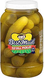 pickles dill Best Maid Nutrition info