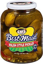 pickles polish style Best Maid Nutrition info