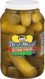 pickles sour Best Maid Nutrition info