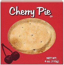 pie cherry Specialty Bakers Nutrition info