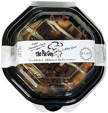 pie triple chocolate chunk The Pie Guy Nutrition info