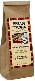 piecrust mix Breads From Anna Nutrition info