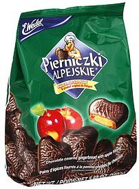 pierniczki alpejskie apple E. Wedel Nutrition info