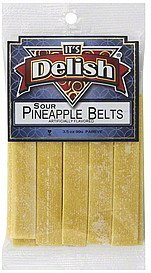 pineapple belts sour Its Delish Nutrition info