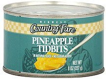 pineapple tidbits Midwest Country Fare Nutrition info
