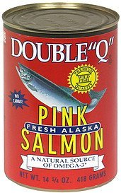pink salmon Double Q  Nutrition info