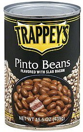 pinto beans Trappeys Nutrition info