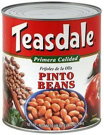 pinto beans Teasdale Nutrition info