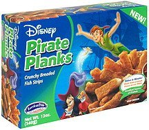 pirate planks disney American Pride Seafoods Nutrition info