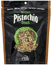 pistachio crunch Nut Land Nutrition info