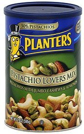 pistachio lovers mix Planters Nutrition info