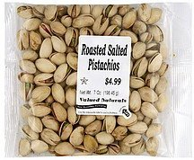 pistachios roasted salted International Foodsource Nutrition info