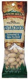 pistachios roasted & sea salted Shadow Hills Nutrition info