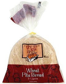 pita bread wheat Perfection Deli Nutrition info