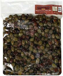 pitted country olive mix fresh Byzantine Nutrition info