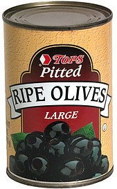 pitted ripe olives, large Hy Tops Nutrition info
