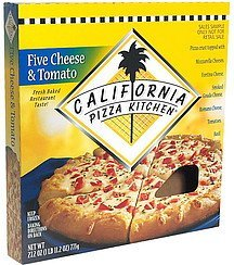 pizza 5 cheese & tomato California Pizza Kitchen Nutrition info