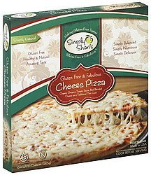 pizza cheese Simply Sharis Nutrition info