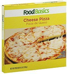 pizza cheese Food Basics Nutrition info