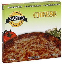 pizza cheese Zanto Nutrition info