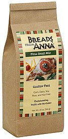 pizza crust mix Breads From Anna Nutrition info