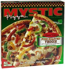 pizza fire roasted veggie Mystic Pizza Nutrition info