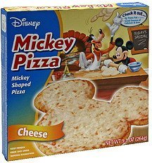 pizza mickey, cheese Disney Nutrition info