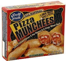 pizza munchees Health is Wealth Nutrition info