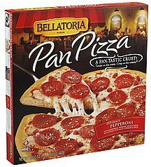 pizza pan, ultimate pepperoni Bellatoria Nutrition info